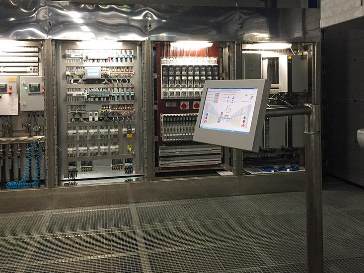 Nasze urządzenie w przepompowni pozwala na łatwe sterowanie procesami technologicznymi